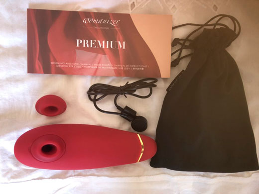 Комплектация Womanizer Premium